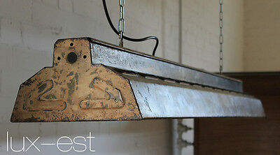 "1 of 2 ""MASCHINE"" LED Industriedesign Fabrik Lampe Industrial Light Fixture"
