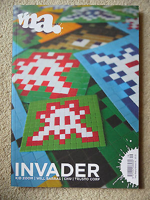 Very Nearly Almost Magazine VNA space INVADER #16 (free banksy & stik photos)