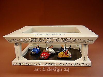"GUILLERMO FORCHINO - Figur FO85043 ""AUTOSCOOTER"" Comic Art Skulptur mit Display"