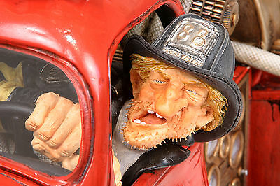 """GUILLERMO FORCHINO """"FIRE ENGINE"""" FO85039 - LIMITED EDITION LE1000 - XXL-Version"""
