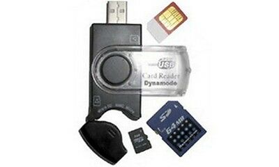 Card Reader, 9 In 1 And Sim