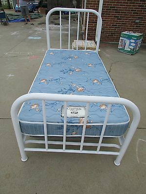 Vintage Antique Metal Bed with Box Springs