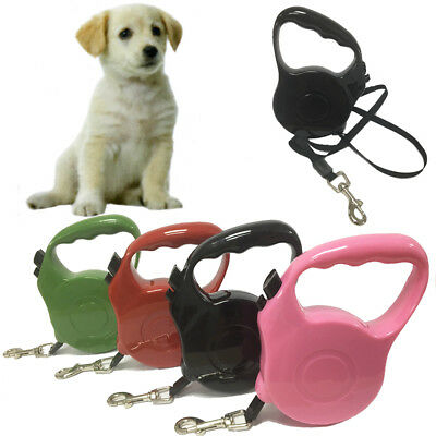 Retractable Dog Pet Leash Lead Extendable 4.5m Tape Traning Strap String Control