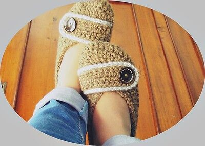 Warm and DELICIOUS Crochet Slippers- Handmade with Care by Order