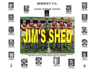 Burnley 1960 League Champions Memorabilia