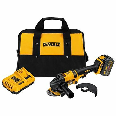 DEWALT DCG414T1 FLEXVOLT 60V Li-Ion Cordless 4-1/2 in. Angle Grinder Kit