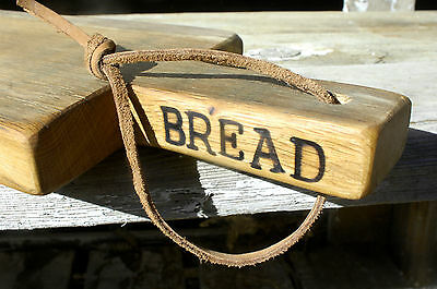 French Cutting Board Solid Oak Country Farmhouse Primitive Kitchen Bread Tray 20