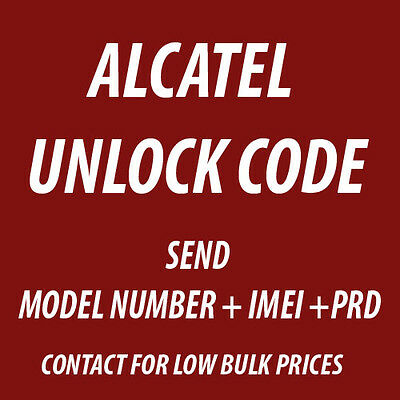 Alcatel OneTouch pixi 3 4.5 5017A UNLOCK CODE PERMANENT FACTORY PIN AUSTRALIA