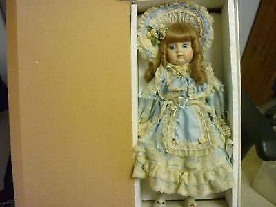 "Porcelain 19"" Doll Gorham #8861 Charlotte Plays My Favorite Things 1987, #1218"