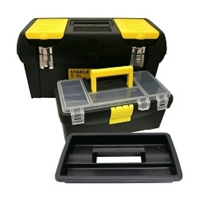 STANLEY 19 in. 060752C Tool Box with 12-1/2 in. Box Inside