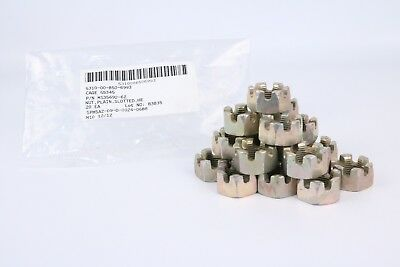 "Humvee Castle Nut 3/4-16 Slotted Head 3/4"" MS35692-62 Hmmwv M998 1 1/4 Ton 20ea"
