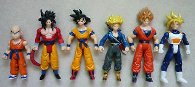 Dragon Ball Z Action Figure 6 pcs Super Saiyan 5 Trunks Goku Gohan Kuririn