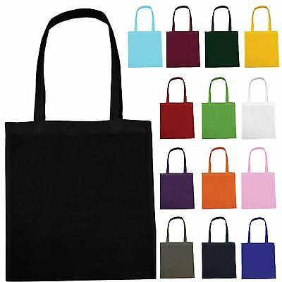Plain Shopping Shoulder Tote Shopper Bags Wholesale - Not Cotton Canvas Bag LOT