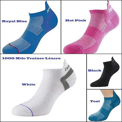 Trainer Liner Ankle Socks Quality Mens Womens 1000 Mile Sports AntiBlister Layer