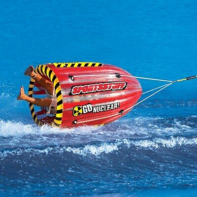 Towable Tube Inflatable Water Raft Tubing Ski Boat Float Outdoor Sports Lake New