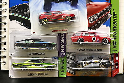 Hot Wheels Carded Lot of 5