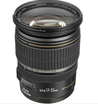 Canon EF-S 17-55mm f/2.8 IS USM Zoom Lens-Fedex free