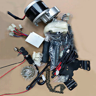 High Quality Electric Bike Bicycle Conversion Geared Brush Motor Components Kit