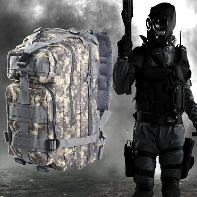 3P Military Tactical Oxford Sport Bag 30L for Camping Traveling Hiking Backpacks