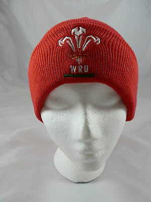 Wales Rugby Union Knit Hat/Beanie/Toque - Official Merchandise