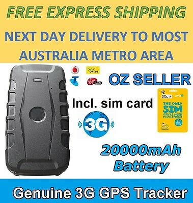 Portable Long Life 3G GPS Tracker Waterproof Magnet Car Anti Theft Live Tracking