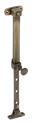 Tradco 2312AB Telescopic Stay Antique Brass 200-295mm