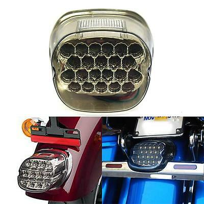 Smoke LED Tail Brake Stop Light Lamp harley Road King Glide Fatboy Touring Dyna