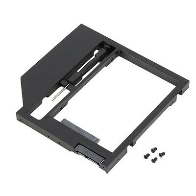 2nd HDD Caddy Hard Drive Disk SATA Case with Screwdriver For Laptop PC HR