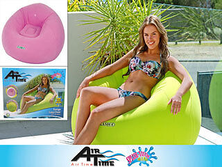 Inflatable Pool Comfy Lazy Sofa Lounge Float Floatie Toy Summer 105 x 105 x 65cm