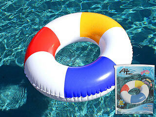 Inflatable Pool Tube Swim Ring Lounge Float Floatie Toy Summer 91cm Airtime