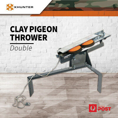 Proshot Clay Double Target Thrower Pigeon Skeet Shooting Target Launcher Shotgun