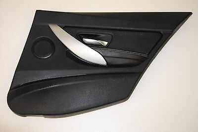 Bmw 3 Series F30 2015 Lhd Door Card Trim Panel Cover Rear Right Off Side