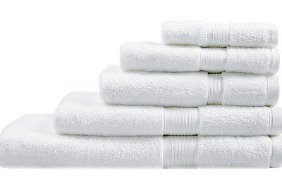 NEW Sheridan Ultra-Light Luxury Towel Range - White