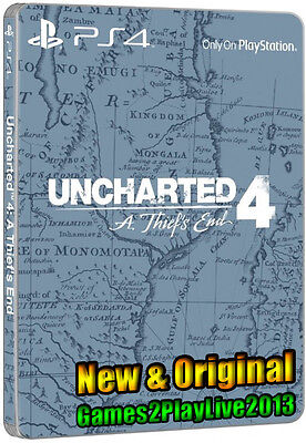 UNCHARTED 4 Promotional Steelbook Case