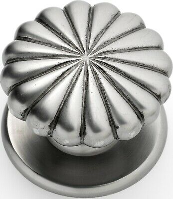 Tradco 1322PM Large Centre Door Knob Polished Metal 100mm