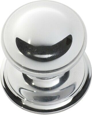 Tradco 1308CP Centre Door Knob Polished Chrome 85mm