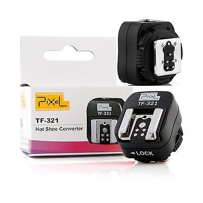PIXEL TF-321 TTL Hot Shoe Converter Adapter for Canon USA
