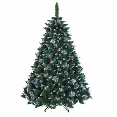 Christmas Tree Luxury Traditional 3 sizes - Gold with cones