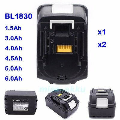 18V Battery for Makita BL1815 BL1830 BL1840 BL1850 BL1860 LXT Li-Ion Heavy Duty