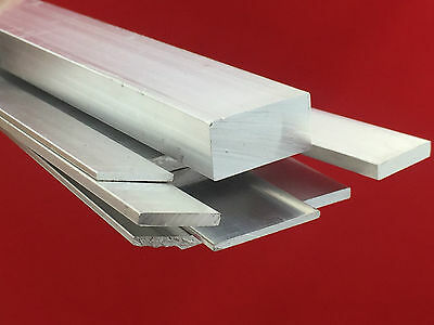 Aluminium Flat Bar many size choose Length up to 500mm to 2000mm