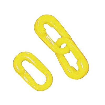 VFM Connecting Links 6mm Joint Pack of 10 Yellow 360083