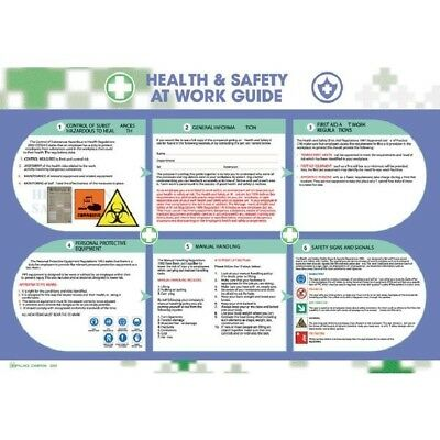Wallace Cameron Health & Safety Poster Health and Safety at Work