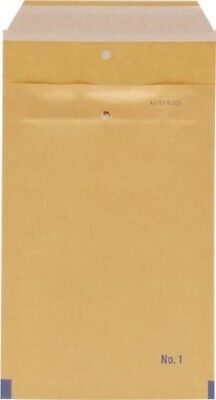 Go Secure Bubble Lined Envelopes 100 x 165mm Brown ML10038