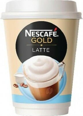Nescafe and Go Latte Cup 23g 12278742 Pack of 8