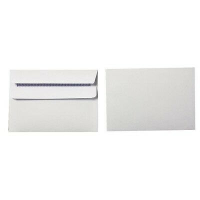 Q-Connect Envelope DL Low Window 80gsm White Self-Seal Pack of 1000