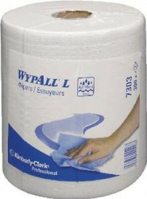 Wypall L30 White Wipers Centrefeed Roll 1800 Sheets 7303