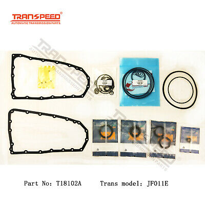 .FOR NISSAN CVT RE0F10A,JF011E overhaul kit gasket set with rings and seals
