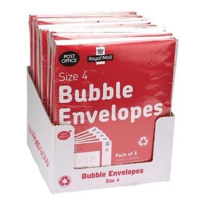 Post Office Bubble Envelope Size 4 Pack of 40 41632
