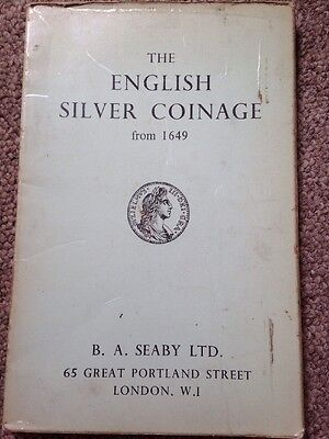 English Silver Coinage From 1649 Seaby  Ltd