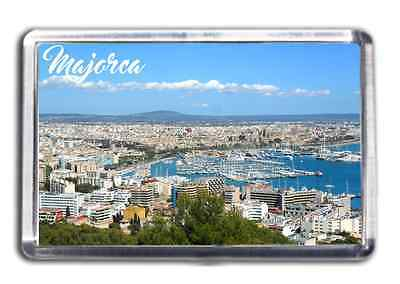 Majorca Fridge Magnet Collectable Design Souvenir Baleric Island Mallorca